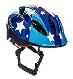 Sport Direct - Casco para niño (talla 48 - 52 cm), diseño de estrellas, color azul
