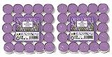 Price's Candles 021937D Duft-Teelichter, Aladino Lavendel, 50 Stück