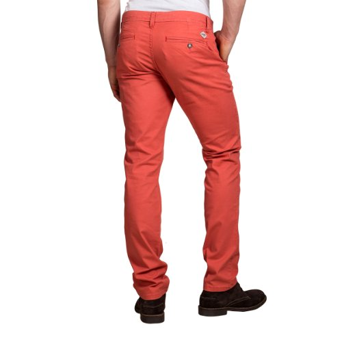 Timezone - Pantalon - Skinny/Slim - Homme Rouge (Burnt Red 5032)
