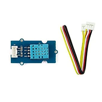 IN ZIYUN Temp&Humi Sensor,It is based on DHT11 digital temperature and humidity sensor which has a resistive element and a negative temperature coefficient (NTC) thermistor