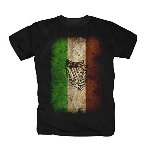 Ireland T-Shirt, Schwarz, XXL