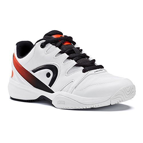 Head Sprint Junior 2.0, Unisex-Kinder Tennisschuhe, Weiß (White/black), 34 EU (2 UK)