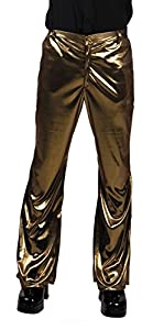 Boland pantalones Disco Party, años 1970 Taglia unica M/L dorado