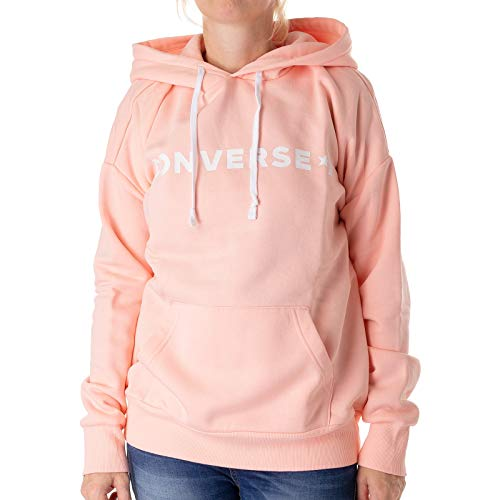 Converse Star Chev Oversized Pullover Hoodie, Sweatjacke, pink (PNK Storm Pink)