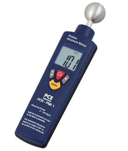 PCE Instruments PCE-PMI 1 Feuchtemessgerät / Feuchtemesser / Materialfeuchtemesser / Material-Feuchtemessgerät zur Feuchte-Messungen von Beton, Holz, Putz, Mörtel usw.