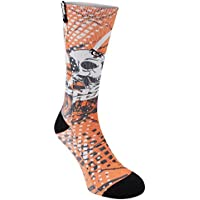 1x No Fear Mens Utah Socks Ankle Pairs Cushioned Foot Novelty Accessories