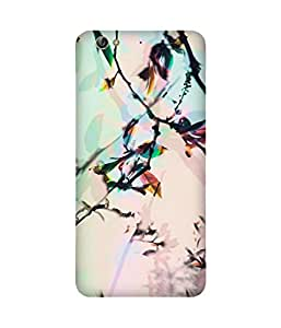 Multi Colour Nature Printed Back Cover Case For Gionee S6