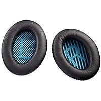 Bose - Kit de almohadillas para auriculares QC25 Quiet Comfort, Negro