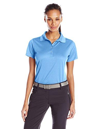Callaway Damen Short Sleeve Opti Core Performance Polo, Damen, Blau (Provence), Large