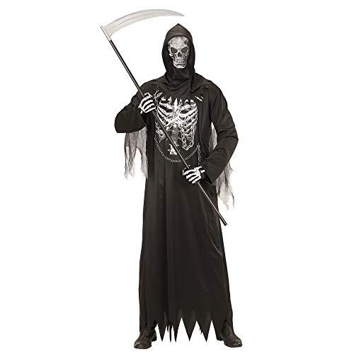 Widmann 08673 Erwachsenen Kostüm Sensenmann, mens, L (Sensenmann Kostüm Für Erwachsene)