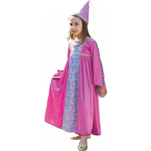 Renaissance Prinzessin Kostüm bis BNWT 3-11Jahre Königin Guinevere Kostüm Juliet (3-5 (Guinevere Kostüme)