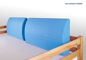 Lato cuscino cuscino cuscino decorativo azzurro per letto a soppalco letto a castello - Letto a soppalco amazon ...