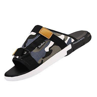 Scarpe da uomo in tessuto Outdoor / Casual Flats / Zoccoli & amp;Mules Outdoor / Walking Tallone piano Appl sandali US8.5-9 / EU41 / UK7.5-8 / CN42