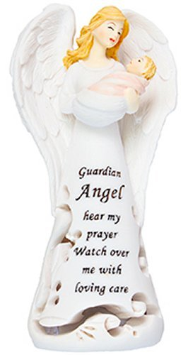 Guardian-Angel-Statue-with-Baby-Boy-and-Light-Lourdes-Prayer-Card