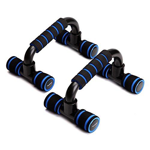 Readaeer® Liegestütz Griffe Pushup Ständer Bars (Blau)