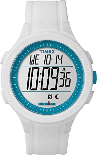 Timex TW5M14800 Unisex-Armbanduhr für Erwachsene mit Quarz-Uhrwerk, Digitalanzeige und Resin-Uhrenband.