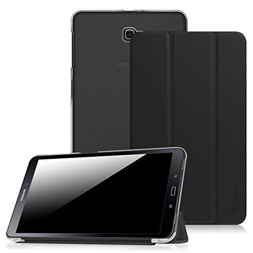 Samsung-Galaxy-Tab-A-101-Funda-Case--Fintie-Ultra-Slim-Ligero-Smart-Cover-con-Translcido-Escarchado-Espalda-Protectora-para-Samsung-Galaxy-Tab-A-101-2016-Negro