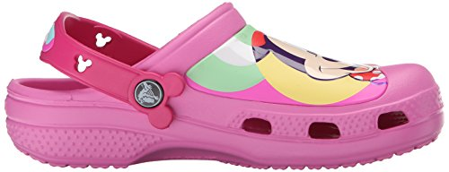 Crocs CC Minnie Colorblock Clog, Sabots FIlle Rose (Party Pink)