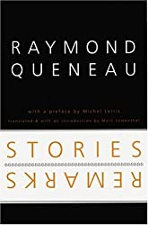 Stories and Remarks (French Modernist Library)