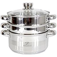 Olla Vaporera Cocina al vapor olla a acero inoxidable meyerhoff Inducción 22cm–XL
