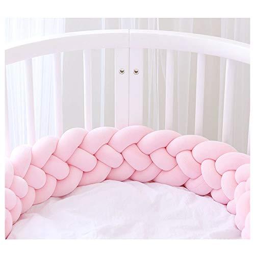 Bettumrandung,Baby Nestchen Kinderbett Stoßstange Weben Bettumrandung Kantenschutz