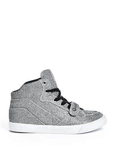 G By Guess Off Duty 2 Toile Baskets Pewter