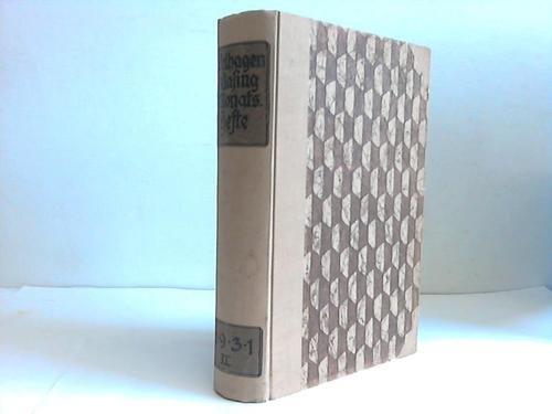 45. Jahrgang 1930/1931. Band 2