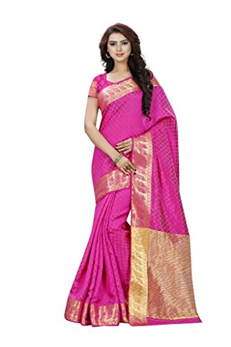 Sarees (Women's Clothing Saree For Women Latest Design Wear Sarees Collection in Multi-Coloured PolyCotton Material Latest Saree With Designer Blouse Free Size Beautiful Bollywood Saree For Women Party Wear Offer Designer Sarees With Blouse Piece)