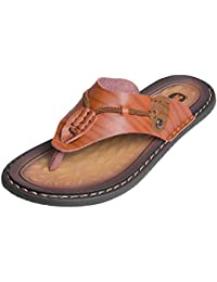 5e26b1c6ec50db Men s Flip Flops Thongs – MemoryFit Comfy Sandals Beach Pool Indoor Lightweight  Summer
