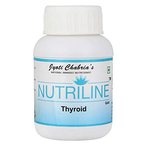 Nutriline Thyroid Capsules 100% Natural - 60 Capsules