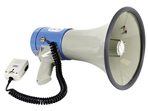 Mégaphone Puissant de 25 W Velleman, référence : sm25n et non Velleman MP25SFM Enceinte pour MP3 & Ipod Noir, Bleu, Gris.