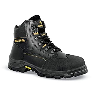 Aimont Revenger Safety Boots Protective Toecap Size 10 Black Ref 7TR0610 Pair 157198