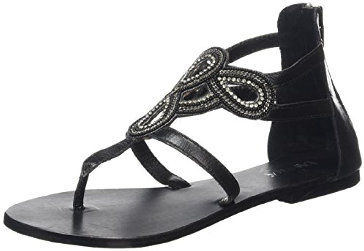 Tantra Strap Sandals with Beads - Sandalias para Mujer