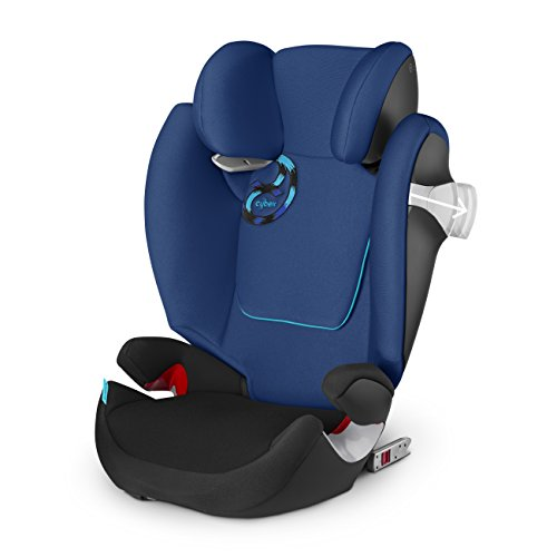 CYBEX Solution M-Fix Toddler Car Seat (Black Sea)