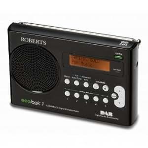 Ecologic 1 (RD-59) DAB/FM RDS Digital Radio - Black