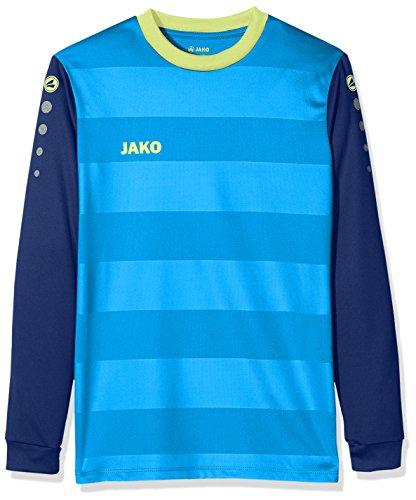 JAKO Herren TW-Trikot Leeds, blau/Navy/Neongelb, 140