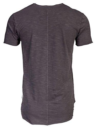TREVOR'S JADEN Herren T-Shirt mit Leinenstruktur und Rundhalsausschnitt aus 100% Baumwolle - soziale fair trade Kleidung, Mode vegan und nachhaltig Color loft, Size S - 2
