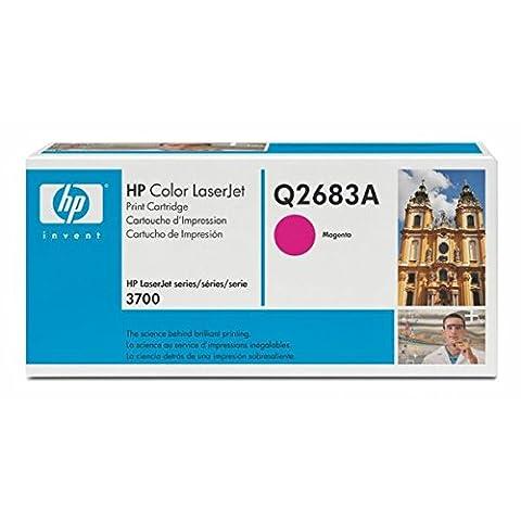HP Cartouche de toner Magenta 6000 Pages Q2683A