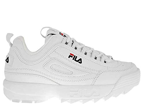 FILA 1010567 Disruptor Kids Zapatillas DE Deporte Junior Unisex White 32