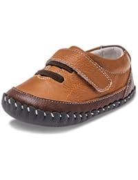 Little Blue Lamb–Zapatos para bebé unidad lernschuhe Zapatillas 32631piel marrón