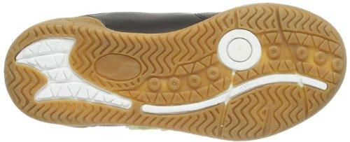 Captn Sharky 430574, chaussons d'intérieur garçon Noir - Noir
