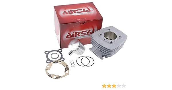 Zylinder Dichtungssatz Airsal Sport 50ccm f/ür Peugeot 103 AC