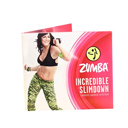 Zumba 4 DVDs Incredible Slimdown in Deutscher Sprache/Menüführung