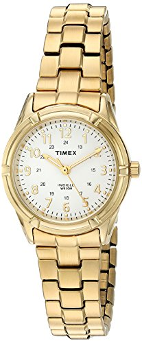 Timex Women's TW2P89100 Easton Avenue Gold-Tone Stainless Steel Expansion Band Watch