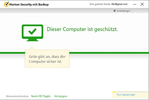 Norton Security mit Backup - 10 Geräte (PC, Mac, Android, iOS) (Product Key Card) - 4