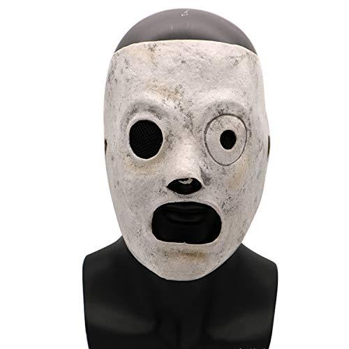 Halloween Cosplay Horror Maske Herren Erwachsenen Latex Kostüm Party - Herr White Kostüm