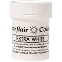 Sugarflair EXTRA WHITE Maximum Concentrated Paste Edible Food Colouring