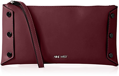 nine-west-womens-sheer-genius-wristlet-sm-wristlet-crimson-black