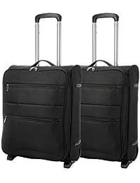 EONO Essentials 55x40x20 Tamaño Máximo de Ryanair y Vueling Trolley Maleta Equipaje de Mano Cabina Ligera