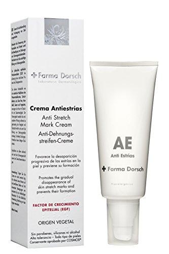 Farma Dorsch, Crema Antiestrías de rápida absorción que ayuda a prevenir y atenuar estrías - 200 ml